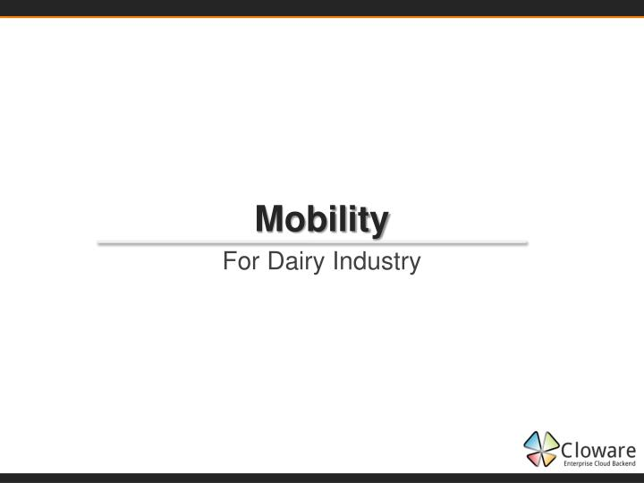 mobility n.