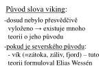 p vod slova viking