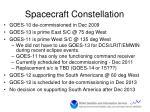 spacecraft constellation