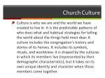church culture1