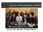 church of the apostles seattle