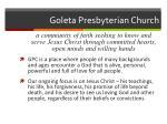 goleta presbyterian church