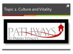 topic 2 culture and vitality