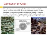distribution of cities1