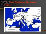 migration routes of germanic tribes