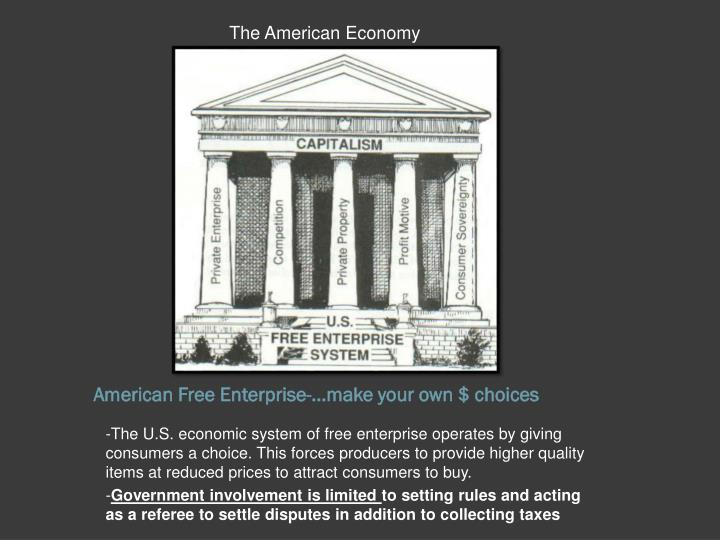 american free enterprise make your own choices n.