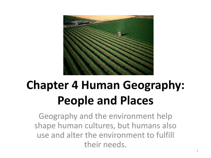 chapter 4 human geography people and places n.