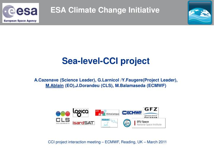 esa climate change initiative n.