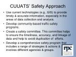 cuuats safety approach1