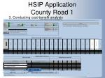 hsip application county road 11