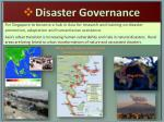 disaster governance
