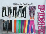 what is fashion1
