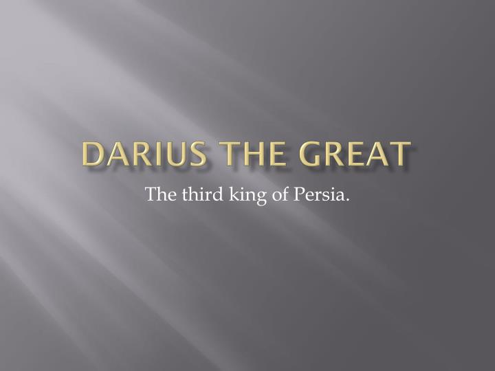 darius the great n.