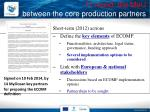 1 st round the mou between the core production partners