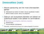 innovaties nat