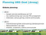 planning urd oost droog1