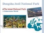 dongsha atoll national park