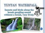 yuntan waterfall