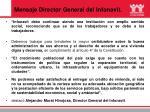 mensaje director general del infonavit