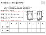 model decoding viterbi2