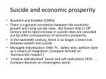 suicide and economic prosperity