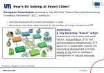 how s eu looking at smart cities
