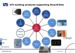 uti existing products supporting smartcities