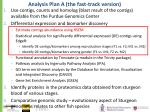 analysis plan a the fast track version1