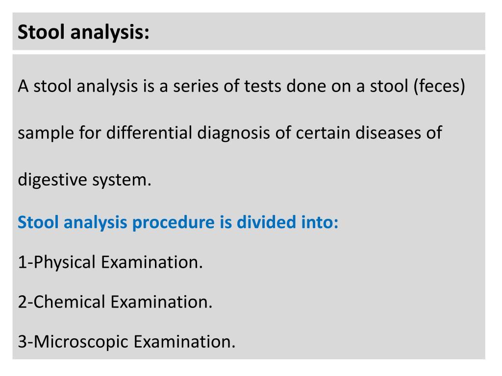 Examination is what Examination procedure