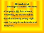 student responsibilities1