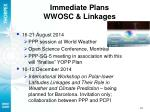 immediate plans wwosc linkages