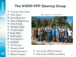 the wwrp ppp steering group