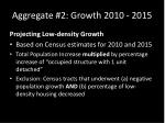 aggregate 2 growth 2010 2015