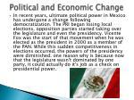 political and economic change1