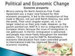 political and economic change3