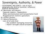 sovereignty authority power3
