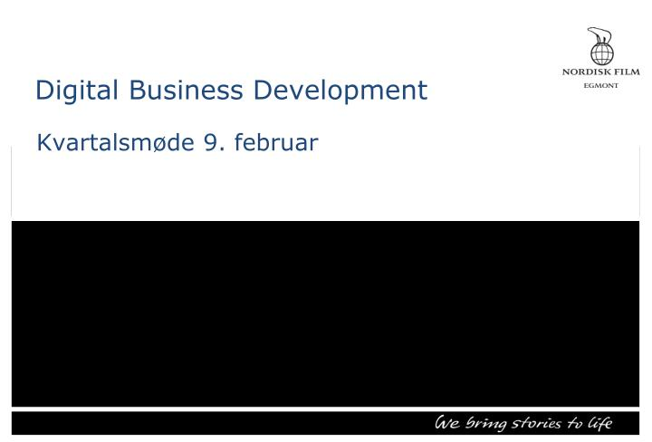 digital business development n.