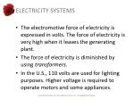 electricity systems