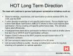 hot long term direction