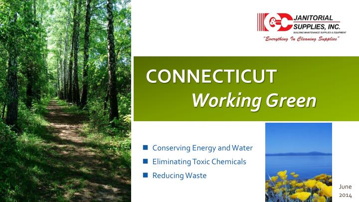 connecticut working green n.