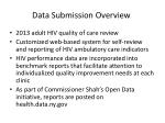 data submission overview
