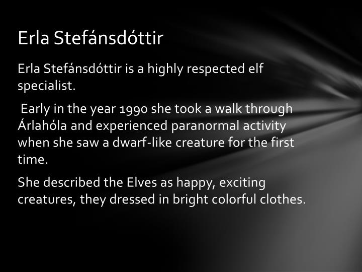 Erla Stefánsdóttir