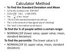 calculator method