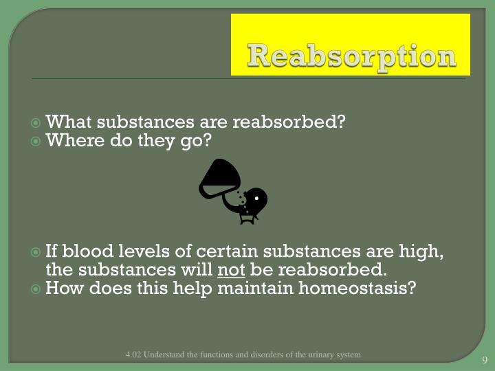 Reabsorption