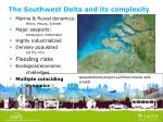 the southwest delta and its complexity