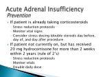 acute adrenal insufficiency5