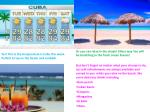 yes this is the temperature is cuba this week perfect to lay on the beach and sunbath