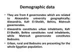 demographic data1
