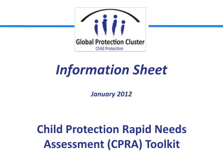 child protection rapid needs assessment cpra toolkit n.