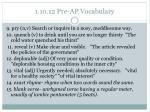 1 10 12 pre ap vocabulary